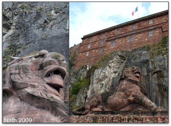 Le Lion de Belfort ; le rugissement de Bartoldi entre Vosges et Jura 1