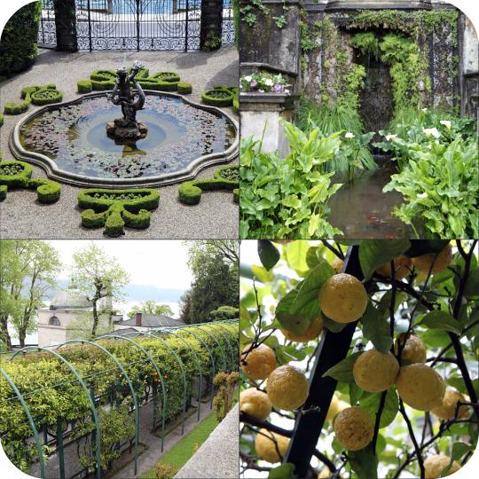 La villa carlotta tremezzo voyageuse comtoise - Jardin a l italienne ...